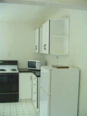 Kitchen facilities of a 3 bedroom apartment